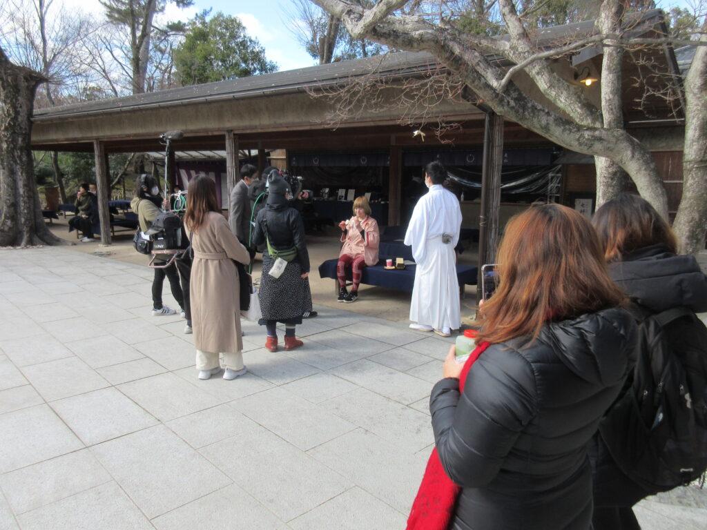 京都民際日本語学校・短期コース・校外学習・北野天満宮
